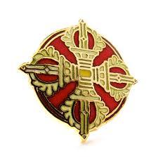 sacred world pin